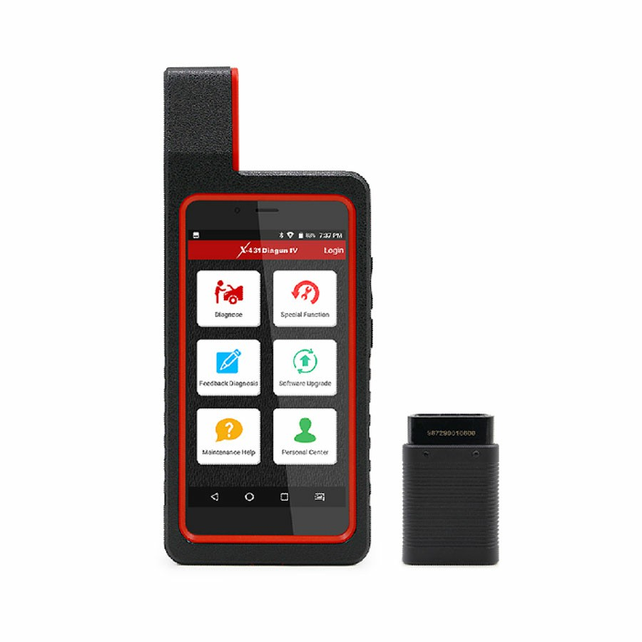 2017 New Released Launch X431 Diagun IV Powerful Diagnostic Tool Wifi Bluetooth Android 7.0 with 2 Years Free Update